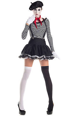 King Costumes For Adults (Mermerizing Mime Costume for Adults size Small New by Party King)