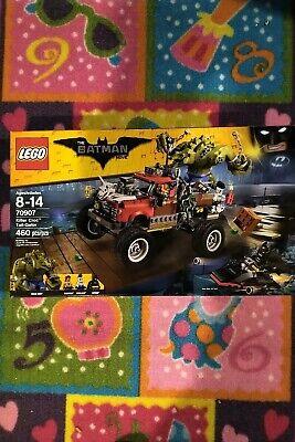 Lego Batman The Movie Set #70907 Killer Croc Tail-Gator. Brand New/Sealed