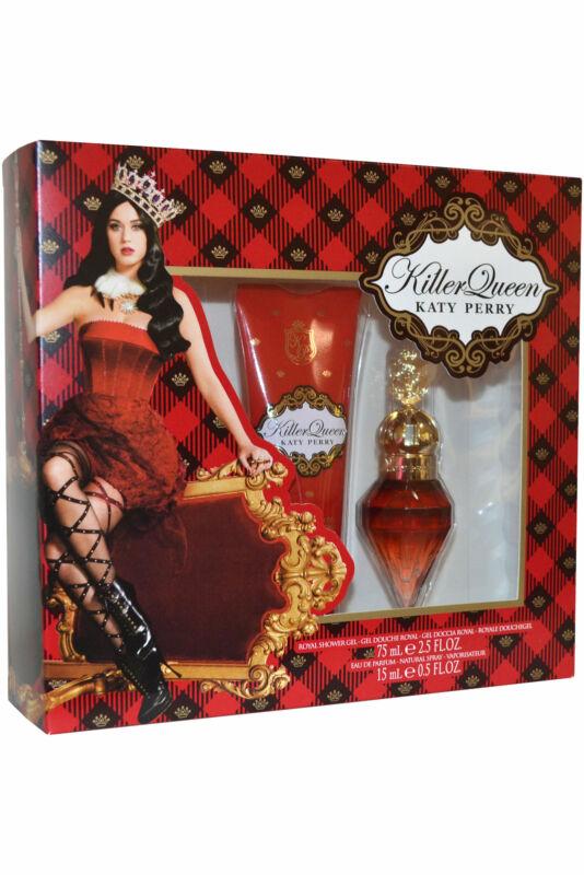 Katy+Perry+Killer+Queen+EDP+Eau+de+Parfum+Spray+15ml+Royal+Shower+Gel+75ml