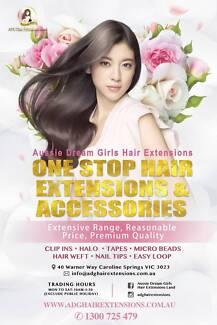 Aussie Dream Girls Hair Extensions Land