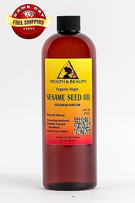Sesame Oil Unrefined Organic By H&b Oils Center Expeller ...