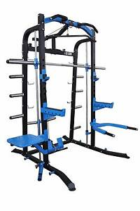 NEW Commercial Half Rack with Smith Machine, & Lat/Row Cable Ex Malaga Swan Area Preview