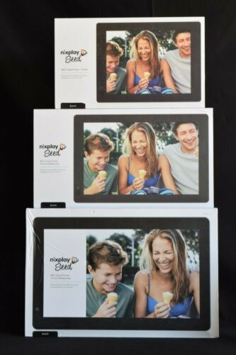 Nixplay WiFi Digital Picture Frame Share Moments