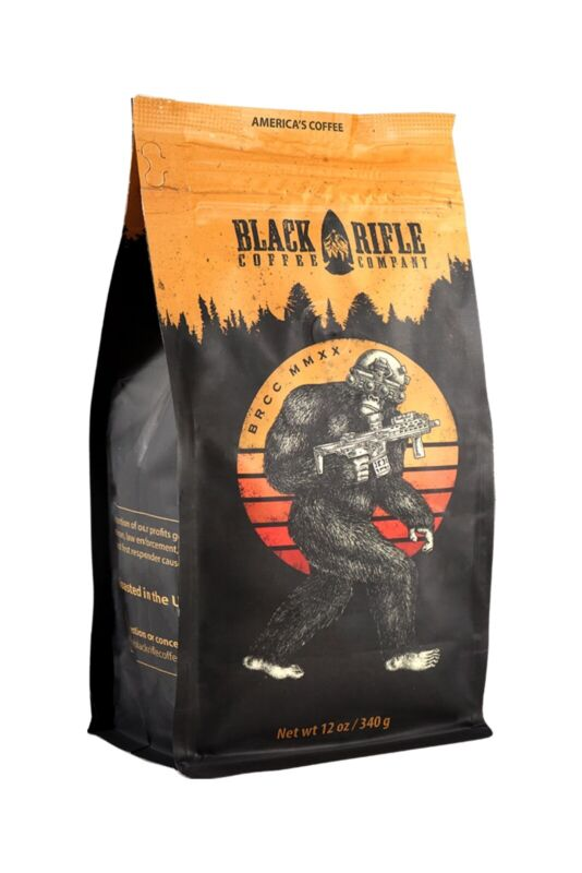 BRCC Black Rifle Coffee Company Tactical Sasquatch Tactisquatch 12 OZ Whole Bean