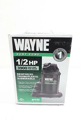 Wayne Spt50 Submersible Pump 1-12in 3900gph 12hp