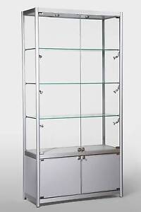 Glass Show Case 1980x1000x400mm with LED lights New Bentley Canning Area Preview
