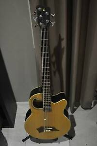 Warwick Alien Rockbass 5 String Acoustic Bass Rockhampton Rockhampton City Preview