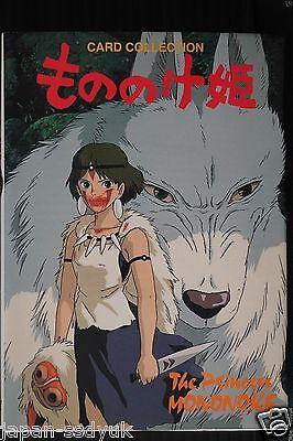 JAPAN Princess Mononoke Studio Ghibli POSTCARD COLLECTION Oop