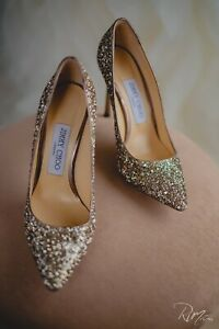 Beautiful Jimmy Choo Wedding Shoes