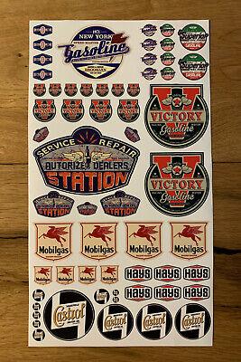AT YOUR SERVICE 15cm Aufkleber Sticker Retro Oldschool Oldtimer US-CARS OEM V8