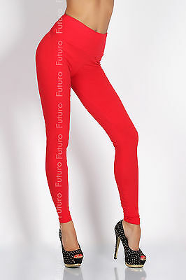 Full Length Cotton + Lycra HIGH WAIST Leggings ♥ Multicolors & All Sizes ♥ LWP