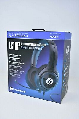 LucidSound LS10P Wired Gaming Headset for PlayStation 4 PS4