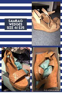 709754d1c28a Sambag Erika High heel wedge sandal Camel size 41