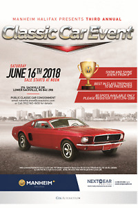 June 16th 2018- 3rd Annual Classic car Show and Shine/Sale