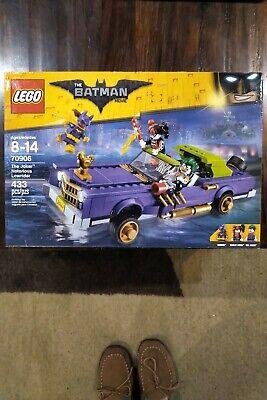LEGO Batman Movie The Joker Notorious Lowrider 2016 (70906) Brand New/Sealed.