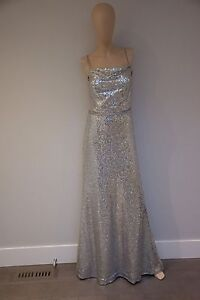 Silver sequence Gown