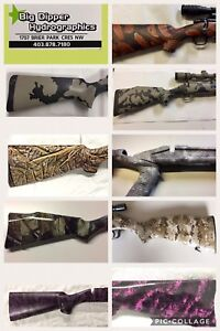 Customize your stock with Hydrographics & ceramic coating