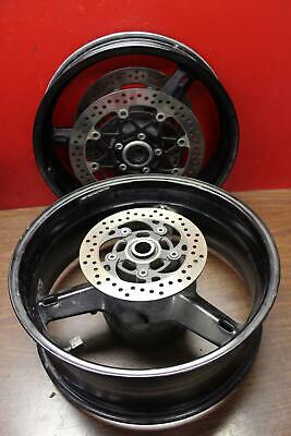 2003-2004 Suzuki Gsxr1000 RIM SET Front Rim Rear Rim Wheels W/ Rotors *STRAIGHT*
