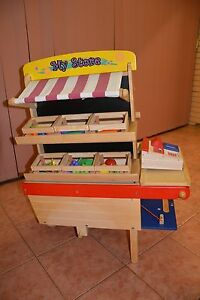 Toy Market Stall - Santoys Wooden toy St Albans Brimbank Area Preview