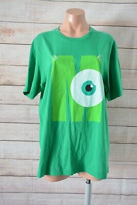 Uniqlo Disney Monsters Inc T Shirt Mike Size Xl Green Shortsleeve