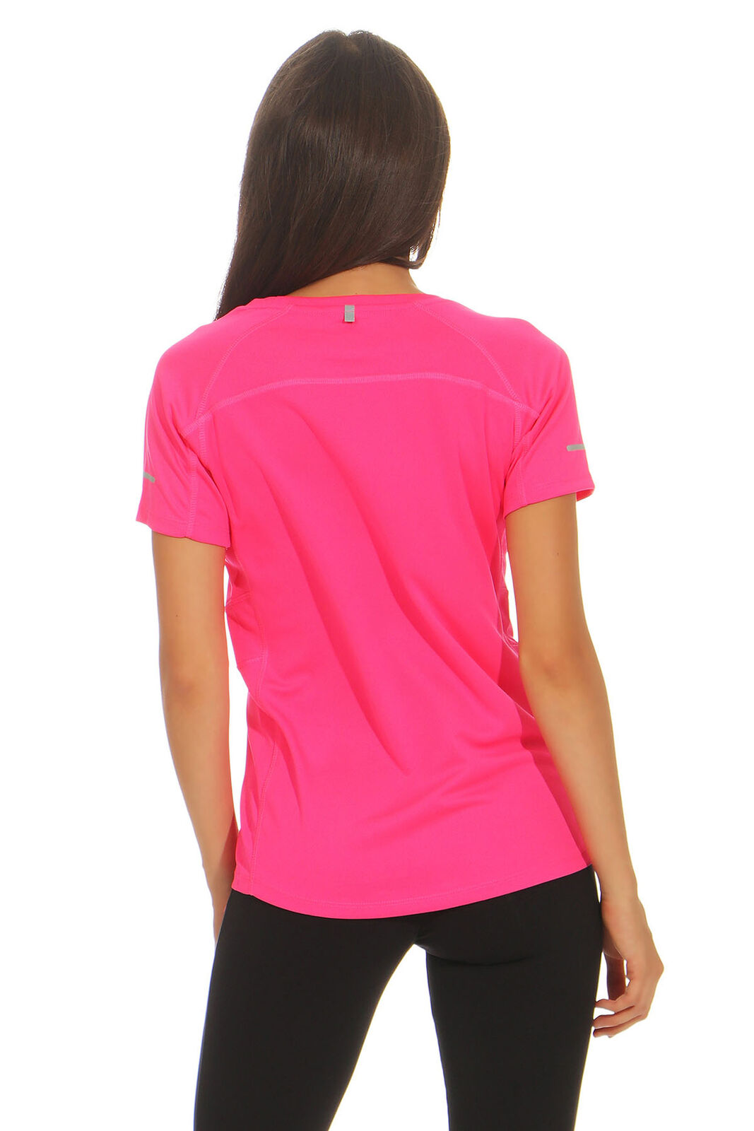 Damen Funktionsshirt Sport T-Shirt Fitness Running Atmungsaktiv Funktions Shirt