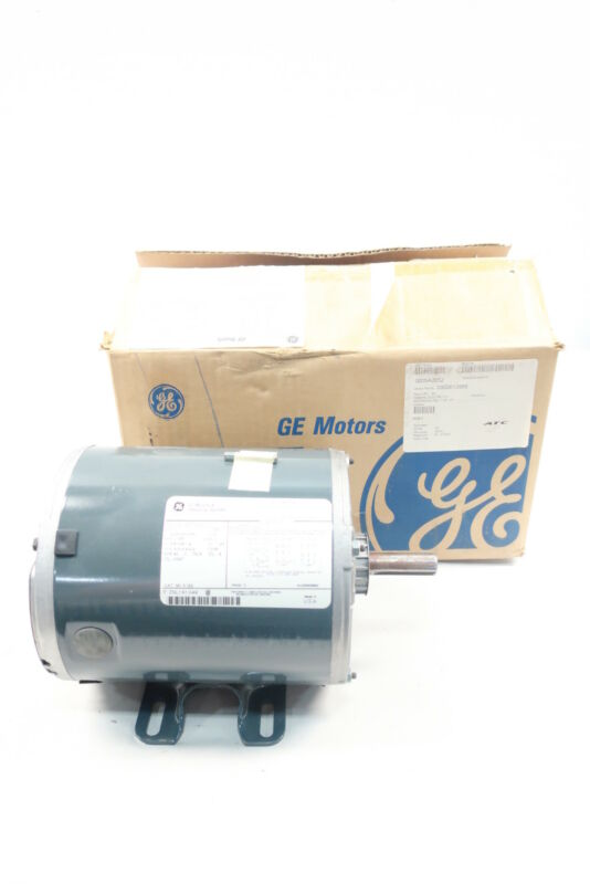 General Electric Ge K122 5K46MN4072 Ac Motor 56 3ph 1hp 1725rpm 208-230/460v-ac