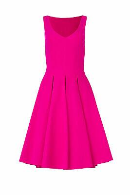 La Petite Robe di Chiara Boni Women Dress Purple 10 (IT 44) Pleated $795- #063