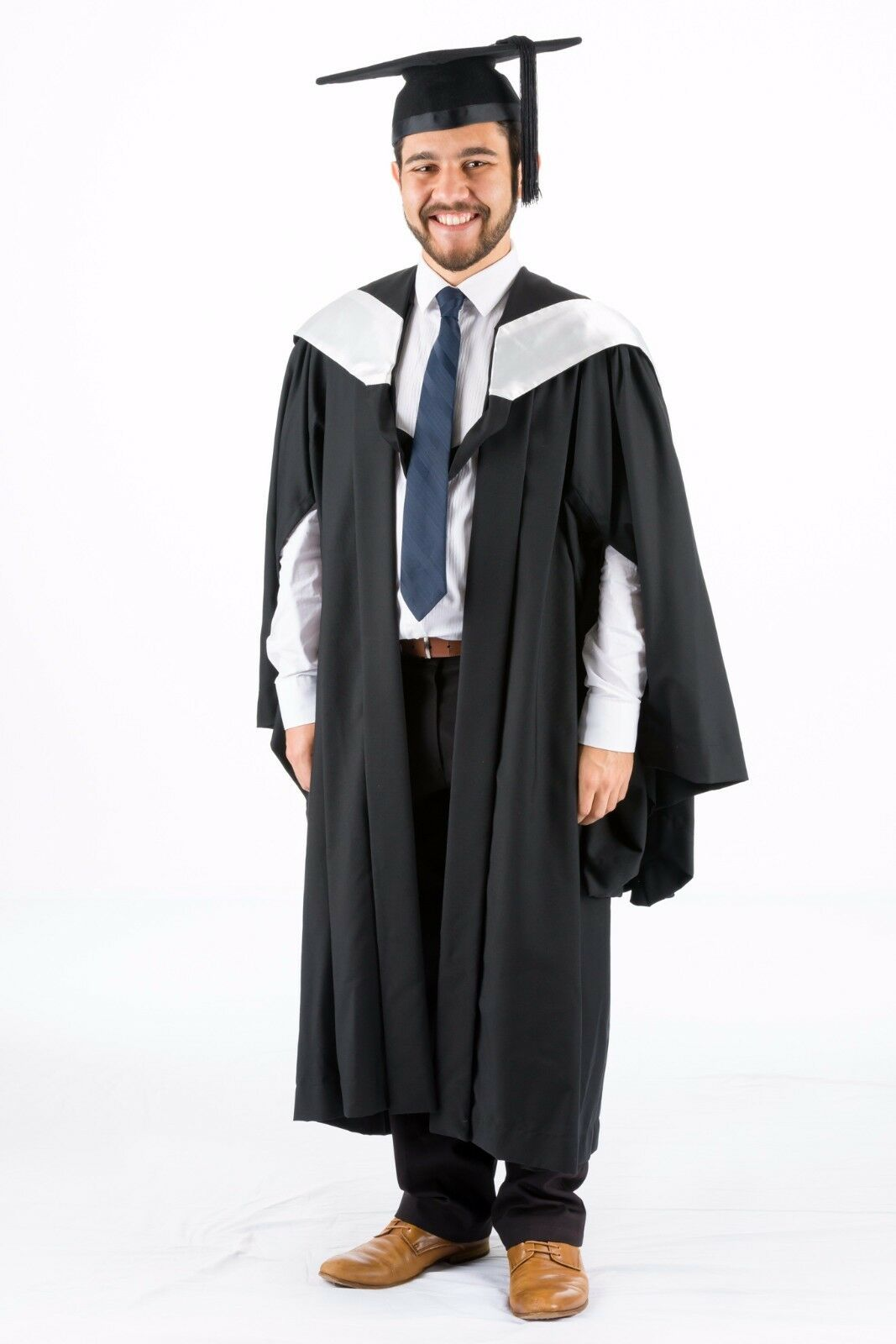 Bachelor Hood Pearl White UQ University of Queensland Graduation ...