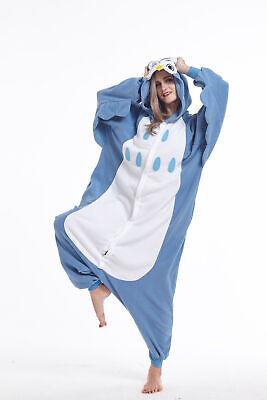 Owl Costumes For Adults (Animal Onesie0 Adult Owl Unisex Kigurumi Pajama Cosplay Costume for Women)