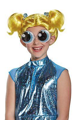 Powerpuff Girls Wigs (Bubbles CHILD Wig Costume Accessory NEW Powerpuff)