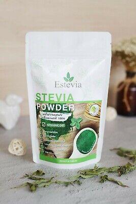 Stevia Powder Matcha Sweetener Organic Ketogenic Clean Food Estevia หญ้าหวาน