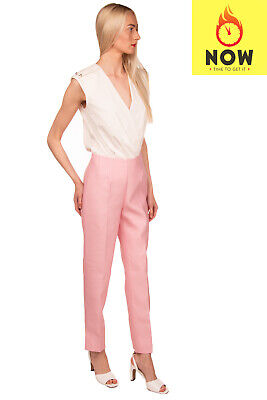 RRP €1280 GABRIELA HEARST Silk & Wool Trousers Size 44 / M-L Made in Italy