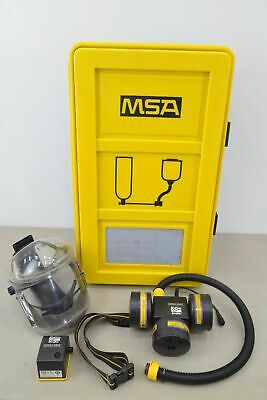 Arcone Compact Air Powered Air Respirator System W Msa Sbca Wall Case 14970k12