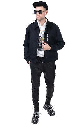 RRP €310 NECESSITY SENSE x LORO PIANA Thin Wool Blouson Jacket Size L Jacquard