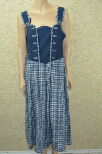 German dirndl Bavarian Oktoberfest dirndl dress  Size XL / 48