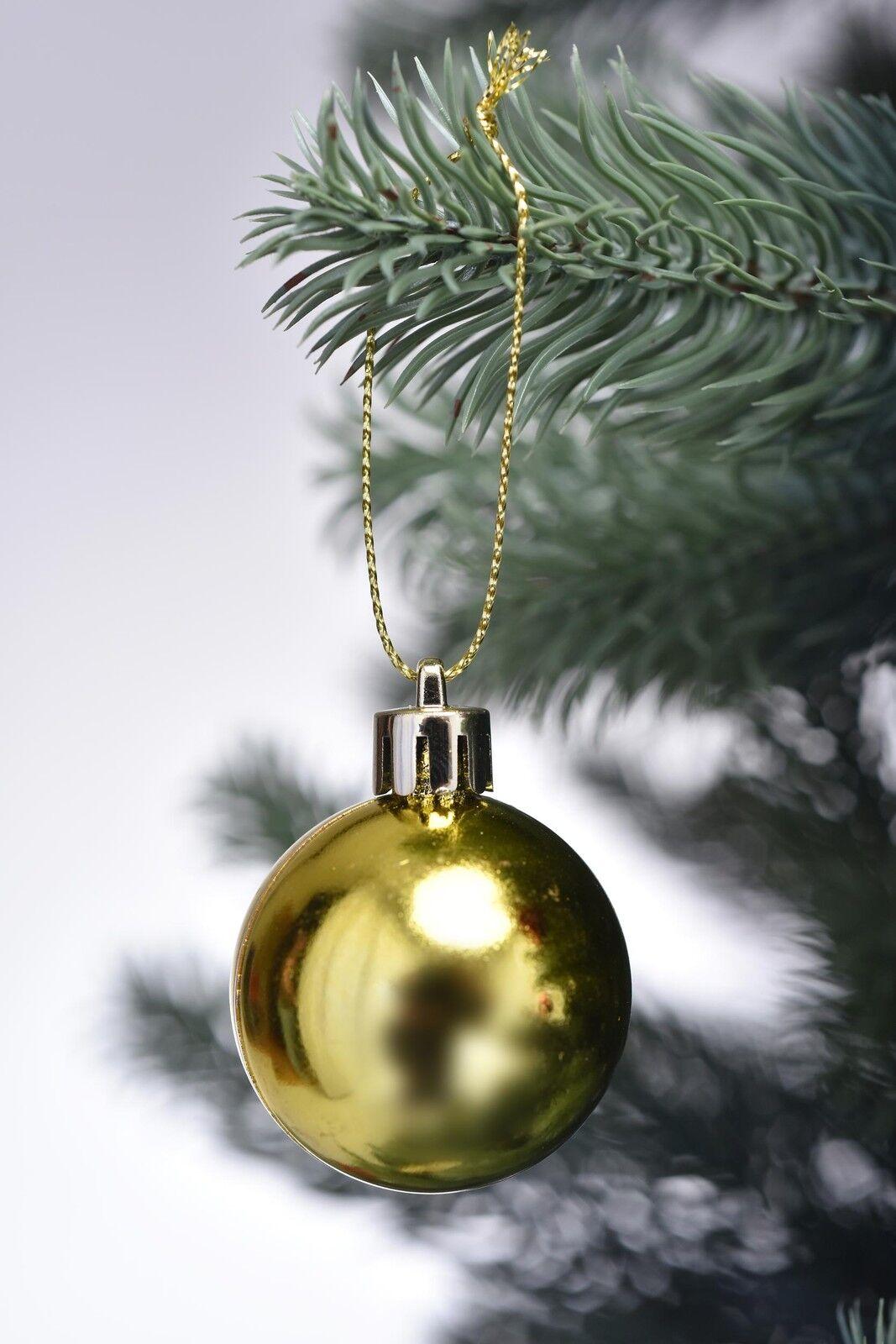 44 tlg christbaumkugeln weihnachtskugeln. Black Bedroom Furniture Sets. Home Design Ideas