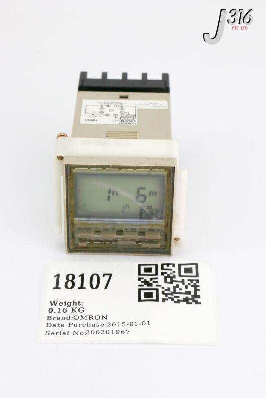 18107 OMRON MULTIFUNCTION DIGITAL TIMER H5CR-L