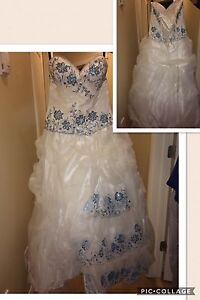 Grad or wedding dress for sale