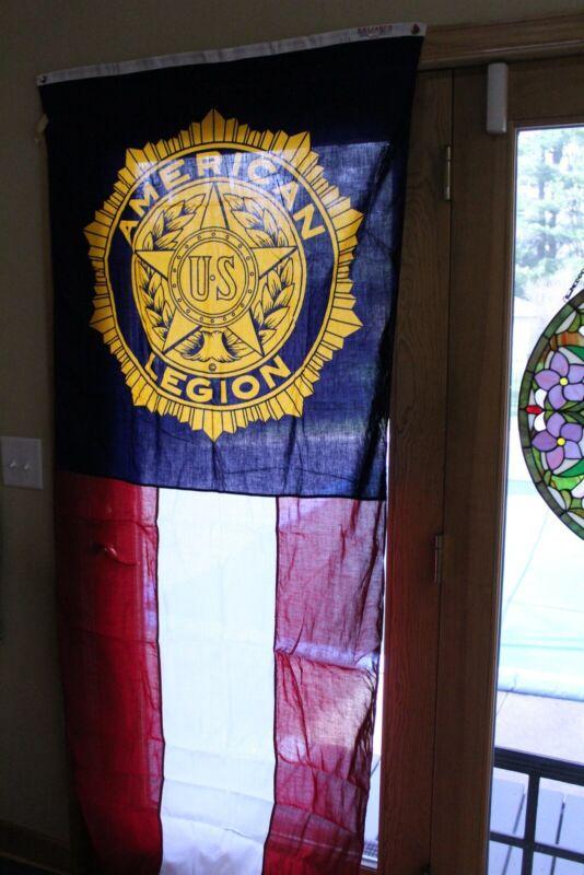 Vintage American Legion Banner Flag 3