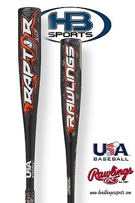 2018 Rawlings Raptor (-10) USA Youth Baseball Bat: -