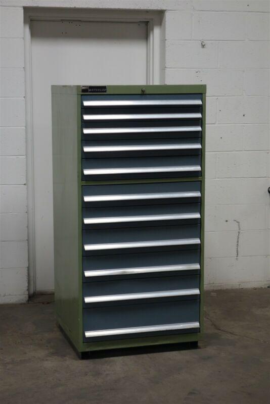 Used Bott Waterloo 11 drawer cabinet industrial tool storage #1965 Vidmar