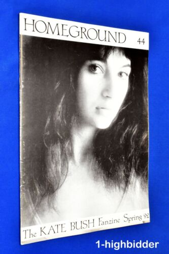 Kate Bush Homeground #44 Spring 1992 Rare UK Fanzine OOP