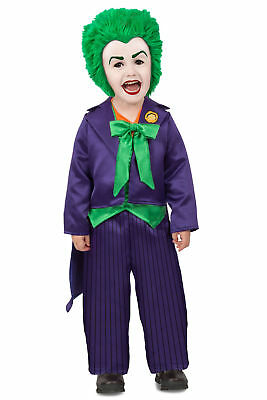 Premium The Joker Toddler Infant Baby Boys Child Costume NEW  (Infant Joker Costume)