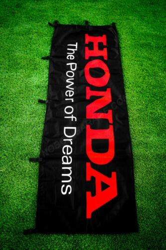 Honda The Power of Dreams Nobori Banner Flag Garage Sign JDM