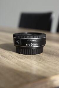 Objectif Lens EF-S 24 mm STM de Canon