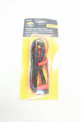 Fluke Tl75 Hardpoint Probe And Test Lead Set