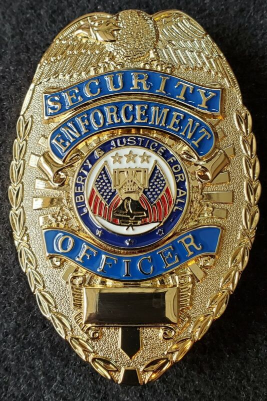 Security Enforcement OfficerBadge (GOLD)