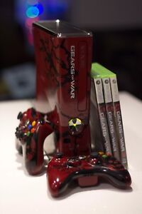 Xbox 360 Gears of War 3 Limited Edition Console and 3 games