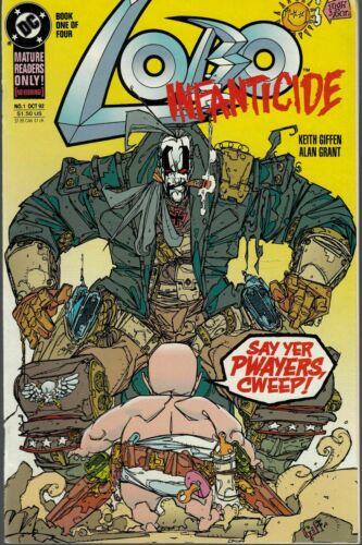 LOBO: INFANTICIDE #1 1992 DC