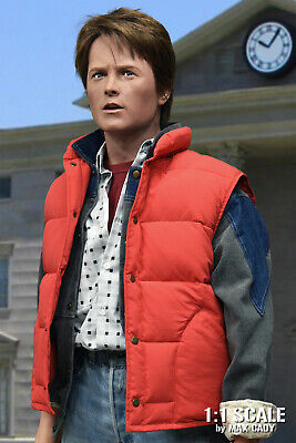 Back To The Future Vest (Screen Accurate Down Vest, BACK TO THE FUTURE, Marty McFly, Michael J.)